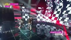 DOMINO GAME (140208 Music Core) - Kiss, Dia