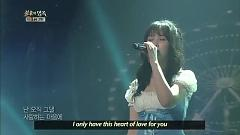 Flying In The Deep Night (130525 Immortal Songs 2) - Spica