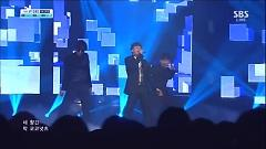 Let's Talk About Love (!30915 Inkigayo) - SeungRi, G-Dragon, Taeyang