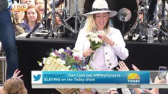 We Can't Stop (Live The Today Show) - Miley Cyrus