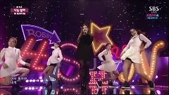I'm Different (141130 Inkigayo) - Hi Suhyun