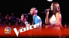 The Joker (The Voice 2015) - Adam Levine, Deanna Johnson, Joshua Davis