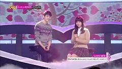 Love Falls (131214 Music Core) - JUNIEL, Lee Jong Hyun