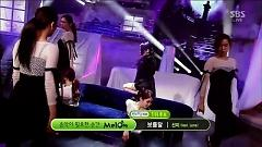 Full Moon & First No.1 (140302 Inkigayo) - Sunmi