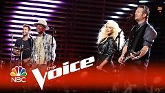 Are You Gonna Go My Way (The Voice 2015) - Adam Levine, Pharrell Williams, Christina Aguilera, Blake Shelton