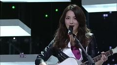 Wanna Do (121216 Inkigayo) - Jiyoung (KARA)