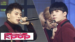 Rainy Day (161209 Simply K-Pop) - Topp Dogg
