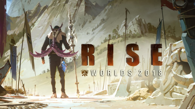 Rise (2018 League Of Legends World Championship) - The Glitch Mob, Mako, The Word Alive