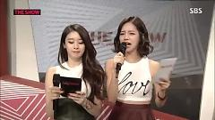 MC Cut (140917 The Show All About K-Pop) - Jiyeon