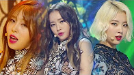 The Rain (161023 Inkigayo) - Ladies' Code