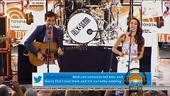 Scarecrow (Live At Today Show) - Alex & Sierra