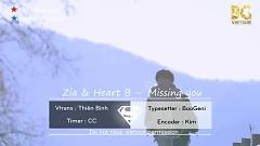 Missing You (Vietsub) - ZIA, Heart B