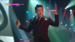 LA SONG (140125 Music Core) - Rain, Tae Jin Ah