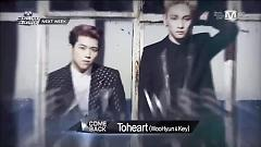Unit Debut Nextweek (140306 M! Countdown) - Toheart (WooHyun & Key)