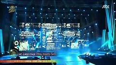 Payphone, Sexy Love, Way Back Into Love (130120 The 27th Golden Disk Awards) - Jung Yong Hwa, Nicole (KARA), Lee Hong Ki