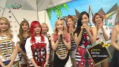 Interview (150710 Music Bank) - SNSD, Girl's Day