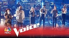 Everybody Hurt (The Voice 2015) - Celeste Betton, Darius Scott, Evan McKeel, Madi Davis, Mark Hood, Riley Biederer