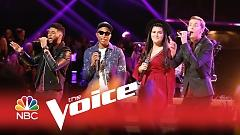 Just A Cloud Away (The Voice 2015) - Pharrell Williams, Evan McKeel, Madi Davis, Mark Hood