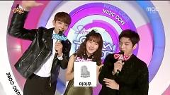 MC Cut (141206 Music Core) - Minho, Kim So Hyun