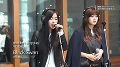 Black Swan (150306 MBC Radio) - Rainbow