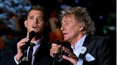 Winter Wonderland (Home For The Holiday 2012) - Michael Bublé, Rod Stewart