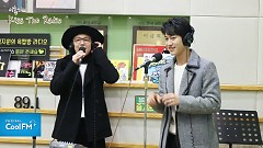 INSENSIBLE (161111 Kiss The Radio) - Kwak Dong Yeon, Lee Hong Ki
