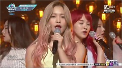 One Of These Nights (161117 M Countdown x 2016 MAMA Highlights) - Red Velvet