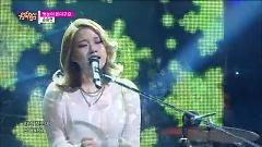 The First Snow Falling (141206 Music Core) - Son Seung Yeon