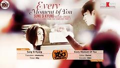 Every Moment Of You (Vietsub) - Sung Si-kyoung
