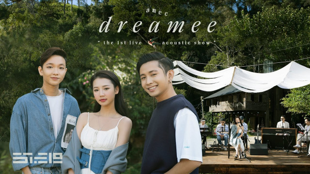 """dreamee"" the 1st live acoustic show (full) - AMEE, Hoàng Dũng, Ricky Star"