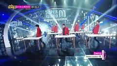 Swing (Korean Version) (140412 Music Core) - Super Junior M